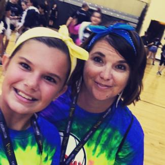 image of Ms. Heineman, ESE Resource Specialist, and her daughter